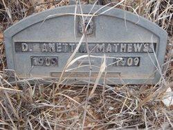 D Anettia Mathews