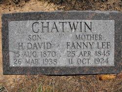 Fanny <i>Lee</i> Chatwin
