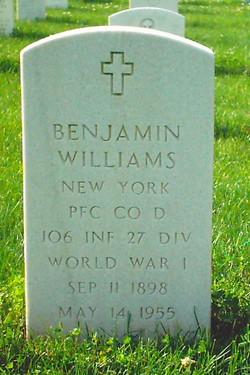 PFC Benjamin Williams
