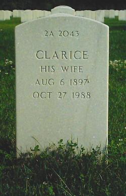 Clarice <i>Weeks</i> Williams