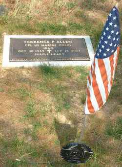 Corp Terrence Patrick Terry Allen
