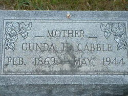 Gunda <i>Larsen</i> Cabble