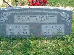 Beulah P. Boatright