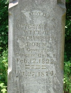 Olive <i>Warren</i> Chamberlin