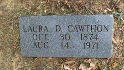 Laura D <i>Leggett</i> Cawthon