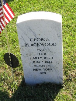 Pvt George Blackwood