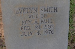 Evelyn <i>Paul</i> Smith