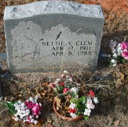Nettie V. <i>Morris</i> Clem