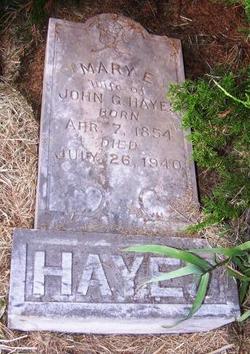 Mary E. Hayes