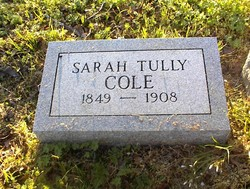 Sarah Tennessee <i>Tully</i> Cole