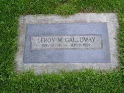 LeRoy W Galloway