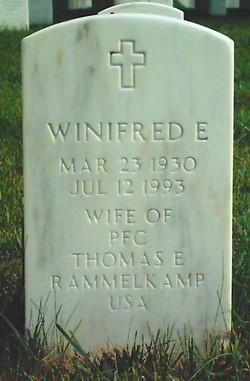 Winifred E Rammelkamp