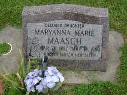 Maryanna Marie Maasch