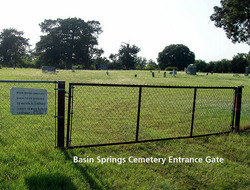 Basin Springs Cemetery