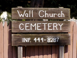 Wall Church Cemetery