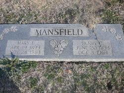 Mary E. <i>Carman</i> Mansfield