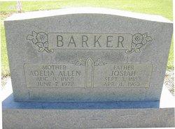 Adelia Lucy <i>Allen</i> Barker