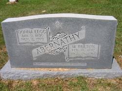 Donna V. <i>Legg</i> Abernathy