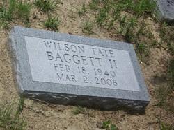 Wilson Tate Baggett, Jr