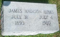 James Madison Matt Hines