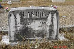Alice D. <i>Hutchins</i> Lanier
