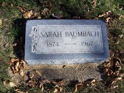 Sarah Ann <i>Deere</i> Baumbach