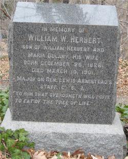 Maj William W Herbert