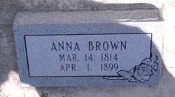 Anna <i>Brown</i> Hammer