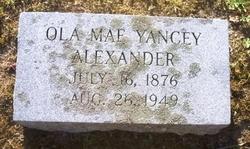 Ola Mae <i>Yancey</i> Alexander
