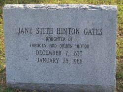 Jane Stith <i>Hinton</i> Gates