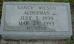 Nancy Frances <i>Peacock</i> Alderman