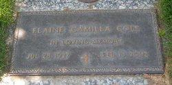 Elaine Camilla <i>Gossman</i> Cole