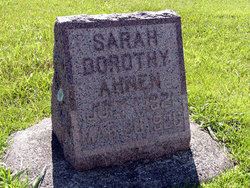 Sarah Dorothy Ahnen