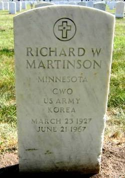 CWO Richard W Martinson