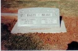 Bessie Armina <i>Carroll</i> Haley