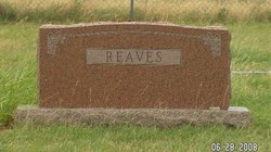 Lessie <i>Pace</i> Reaves