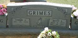 Betty Ann <i>Tubb</i> Grimes