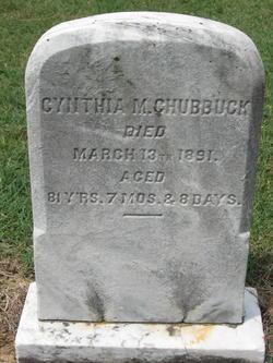 Cynthia M. Chubbuck