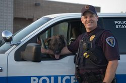 Baloo Police K-9 Dog