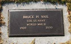 Col Bruce Hudson Vail