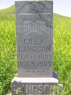 Lilly <i>Gotfredson</i> Langson