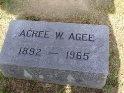 Acree W. Agee