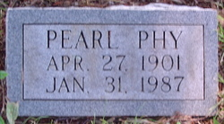 Pearl Pearlie <i>Bell</i> Phy