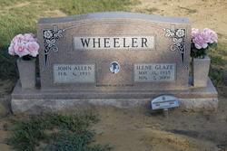 Florence Ilene <i>Glaze</i> Wheeler