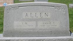 Annie Pearl <i>Willett</i> Allen