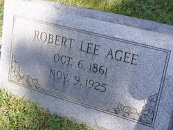 Robert Lee Agee