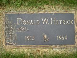 Donald Wilbur Hetrick