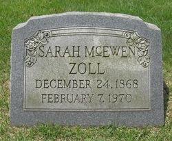 Sarah Willis <i>McEwen</i> Zoll
