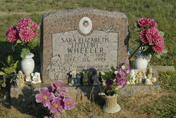 Sara Elizabeth Littlebit Wheeler