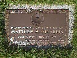 Matthew A. Girardin